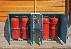 Меры безопасности при складировании и хранении баллонов